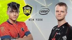 CS:GO - Astralis vs. Team Liquid [Vertigo] Map 1 - Semifinal - ESL One New York 2019