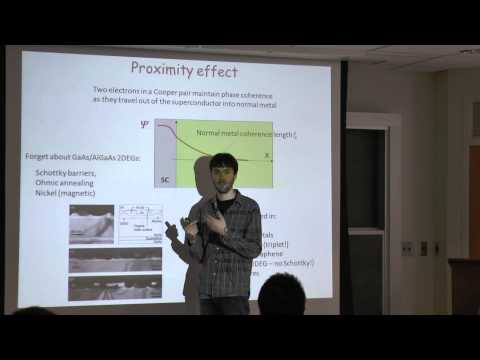 Quantum Transport, Lecture 13: Superconductivity