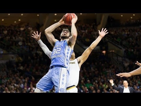 UNC Men's Basketball: Tar Heels Escape Irish in South Bend,  69-68