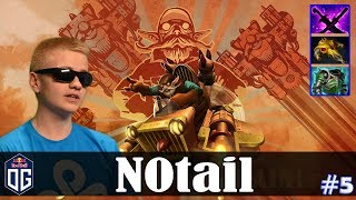 N0tail - Gyrocopter Safelane | Dota 2 Pro MMR  Gameplay #5