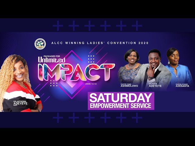 Packaged for Unlimited Impact (Day 2) | Drs Festus & Anthonia Adeyeye | ALCC Winners House