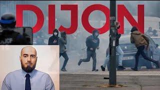 In English. Обращение к властям Франции по поводу беспорядков в Дижоне