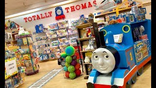 Toy Hunt for THOMAS Fans - SO MANY Thomas & Friends Trains at Totally Thomas in Escondido California