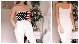 Monthly Try-On Haul - July 2018! Fashion Nova, Cotton On, Glassons!