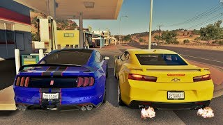Forza Horizon 3 Online - Camaro SS VS Shelby GT350R - GoPro ‹ ZoiooGamer ›