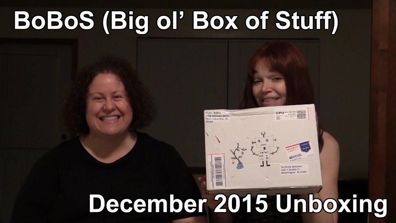 december 2015 bobos big ol 39 box of stuff youtube. Black Bedroom Furniture Sets. Home Design Ideas