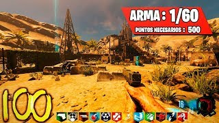 CALABUTH VS POKER EN JUEGO DE ARMAS ZOMBIES - RUST CUSTOM MAP