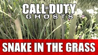 COD Ghost - Snake In The Grass!