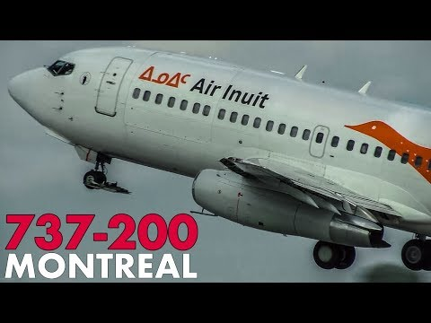 BOEING 737-200s alive and well at Montreal!