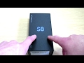Samsung Galaxy S8 (midnight black) Unboxing