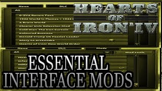 Essential Interface Mods - Hearts of Iron IV HOI4