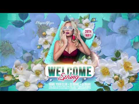 Spring Coming v02 After Effects Template