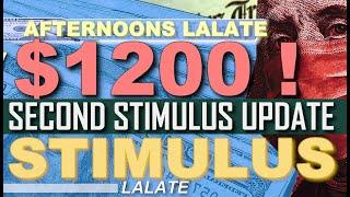 LATEST! SECOND STIMULUS CHECK   SSI & SSDI SS SSA Veterans !   Second Stimulus Package GOOD NEWS !