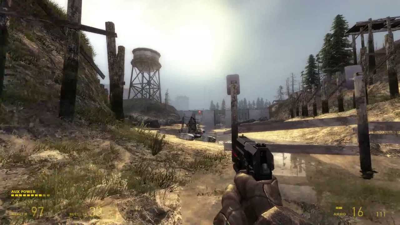 Let's Play Half Life 2 (Cinematic Mod 2013) - Water Hazard ...
