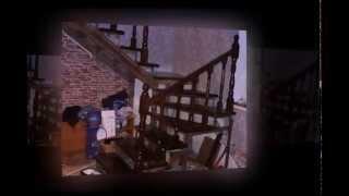 Сборка лестницы на второй этаж своими руками(Каркас железный, сваренный из швеллеров и уголков. Ступени, балясины и перила собраны на шурупах., 2014-08-19T01:32:48.000Z)