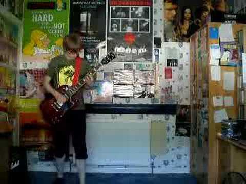 Ash - Kung Fu guitar cover