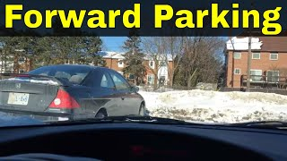 Forward Parking A Car-Beginner Driving Lesson