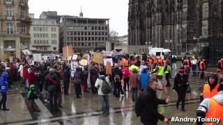 Кёльн. Демонстрация против преподавания порно в садиках и начальных классах Германии 22.03.2014