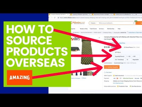 Amazon FBA: How To Find Suppliers Abroad (Step-By-Step)