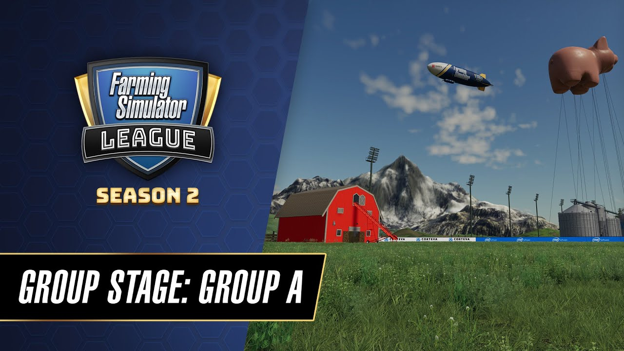 Farming Simulator League World Championship 2020 Groupstage | Group A