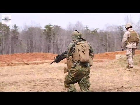 U.S. Marine Corps Squad Tactics Exercise
