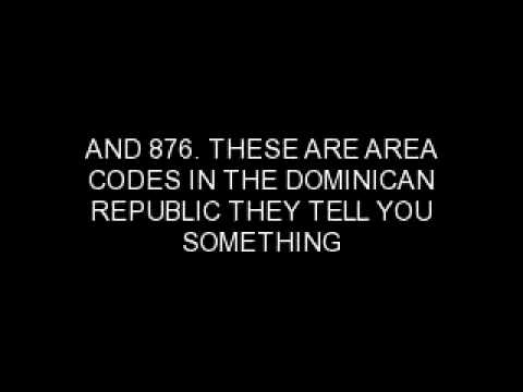 AREA CODES NOT TO DIAL