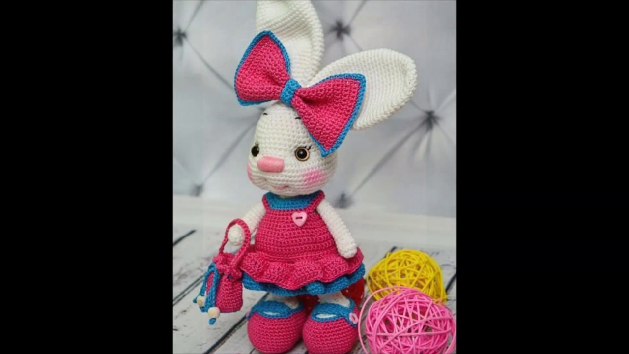 Crochet toy Rabbit Zlata is very sweet toy and good friend for ... | 720x1280