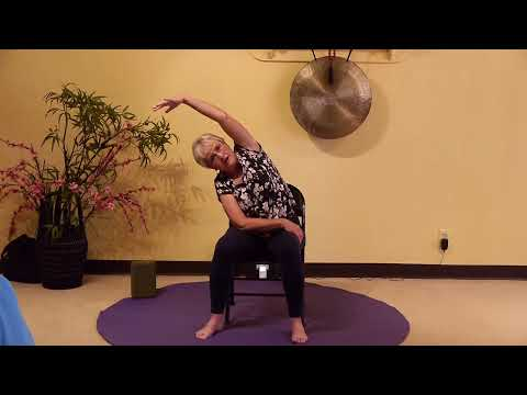 1-Hr Chair Yoga Class with Melanie - Being in the Moment with your Breath and Body