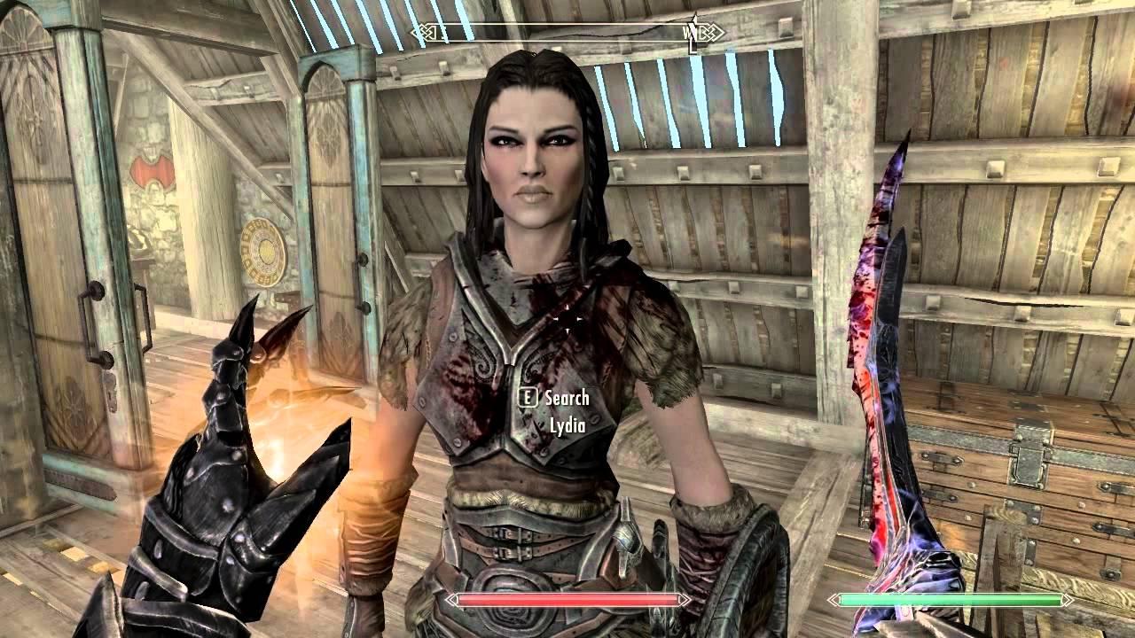 Skyrim Resurrect Lydia Give Her God Mode