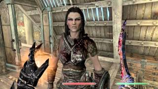 Skyrim Resurrect Lydia Give Her God Mode