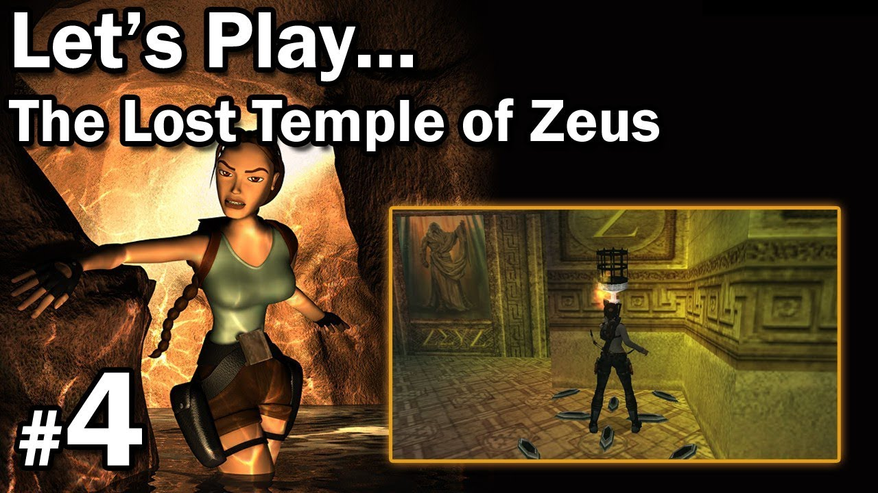 "Let's Play: [TRLE] The Lost Temple of Zeus odc. 4 – LvL 4 [1/2] – ""Kręcenie głowami"""