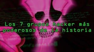 Los 7 grupos hackers más poderosos de la historia thumbnail