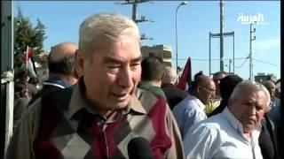 الفلسطينيون يحيون يوم الارض بالتظاهرات والاضرابات