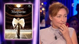 Catherine Frot - On n'est pas couché 5 septembre 2015 #ONPC