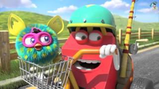 McDonalds HAPPY MEAL Hot Wheels and Furby Commercial AD 2015 FURBWHEELS