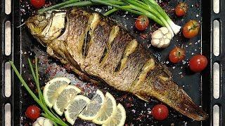 Рыба для праздничного стола: рецепт карпа в духовке