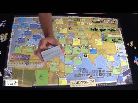 46.2.- Labyrinth (GMT): Explicación de reglas 1