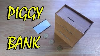 how to make piggy bank atm machine for cash toy
