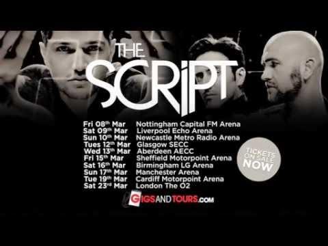 THE SCRIPT 2013 UK ARENA TOUR - TV ADVERT