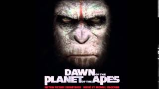 Dawn of The Planet of The Apes Soundtrack - 06. Monkey to the City