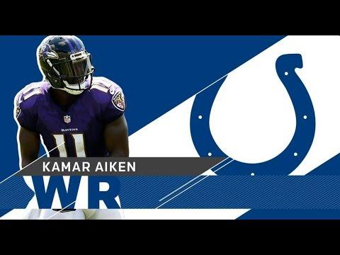 Kamar Aiken Welcome to the Colts 2017