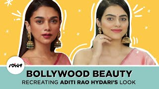 How To Recreate Aditi Rao Hydari's Makeup Look | Bollywood Beauty Inspired Makeup Tutorial | iDiva