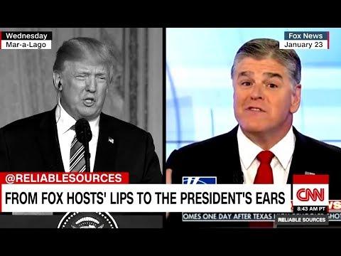 Trump Just Walks Around Parroting Fox News All Day (VIDEO)