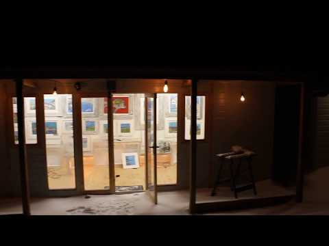 Paul Westaway Outsider Artist Cornwall New studio preview