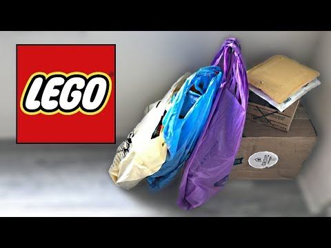 LEGO Mystery Unboxing and Haul October 2017 - New and rare sets!