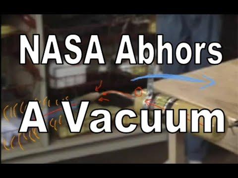 NASA Abhors A Vacuum
