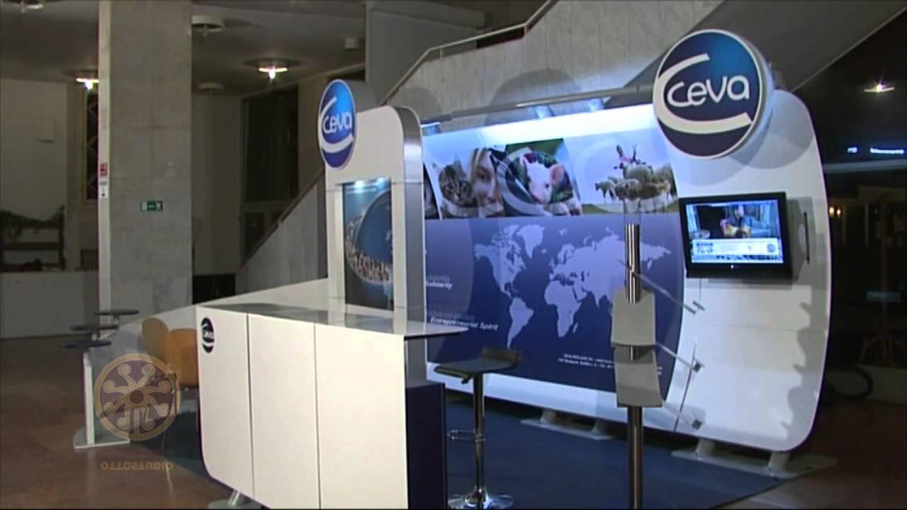Custom Exhibition Stand Year : Ceva pharmaceuticals mobile exhibition stand youtube
