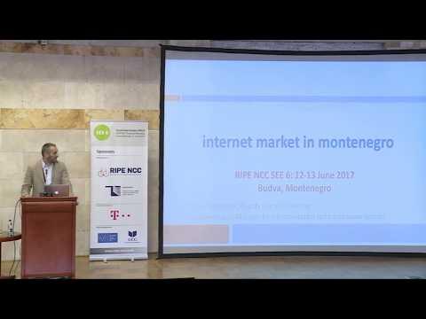 SEE 6 : Internet Market in Montenegro Vitomir Dragas, EKIP