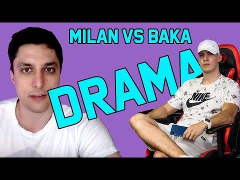 Baka Prase Isprozivao Milana Sa StaDaJedem I Milanius Kanala  !DRAMA!😧😧
