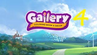 Gallery Coloring Book Decor Part 4 Walkthrough Youtube